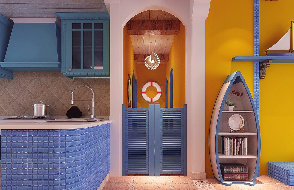 地中海風室內設計