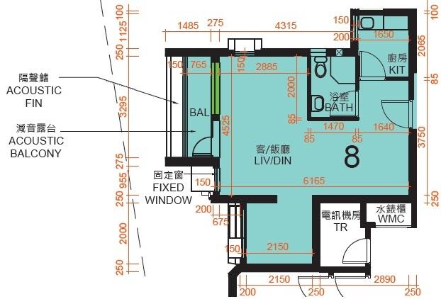 裕泰苑2房有露台