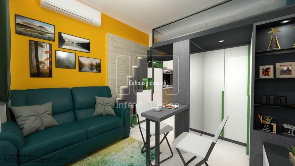 200呎室內設計