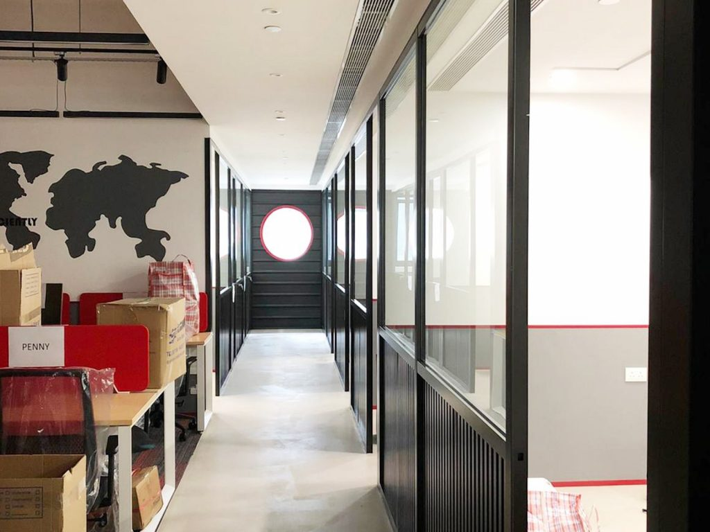 觀塘辦公室裝修:室內設計15