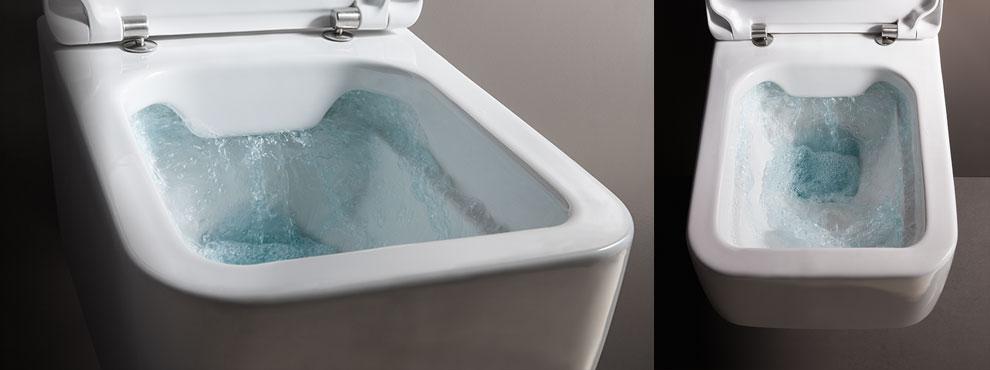 排污沖水方式