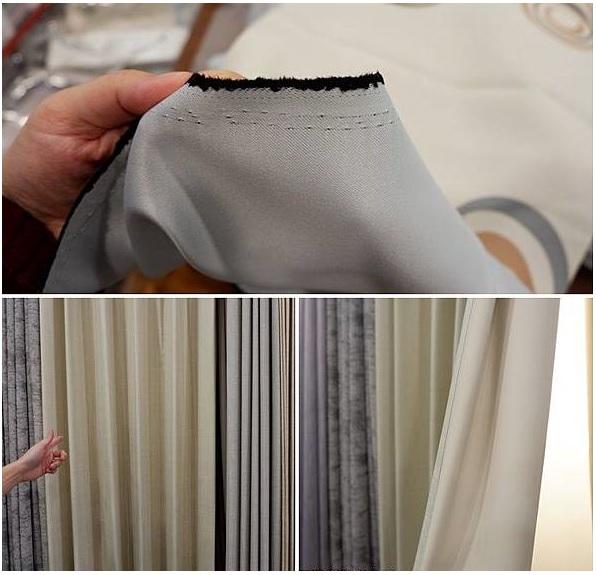 三明治窗簾